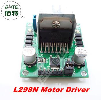 Free Shipping~L298 Module L298N Dual Bridge DC stepper Controller Control Motor Driver module Board