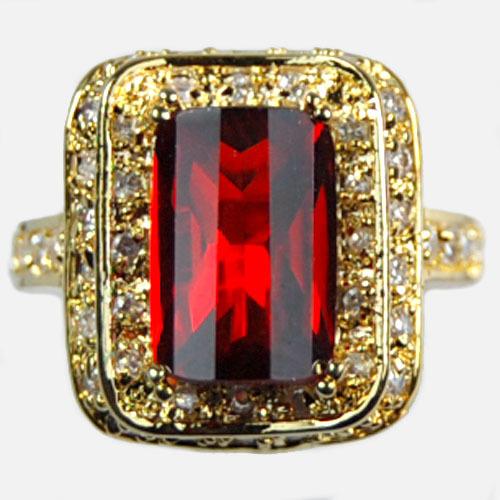 Кольцо 100% 14kt sz8 : 9008 loverjewelry 11x13mm 14kt 2t018