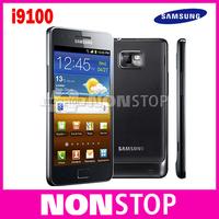SII Unlocked Original Samsung GALAXY S2 S II I9100 Smartphone Android 2.3 Wi-Fi GPS 8.0MP 4.3inch Refurbished