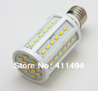 5pcs 15W E27 60 5630 SMD 2400LM 360 degree LED Corn Bulb 220V Warm White / white High Luminous Efficiency led Light Lamp