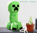 Free shipping Hot New Minecraft Game Creeper Fans-Art Soft Plush Doll Collection Gift , Approximately 30cm