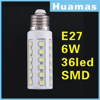 360 degree E27 E14 B22  44/36 LED 5050 SMD 9W 6W Cold/warm White powerful Corn Light Bulb 1200LM 230V 220V/110V lamp