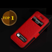 2012 Novelty Products Original KDS Brand Deluxe Genuine Leather Cover Case for iphone 5 5g Retail