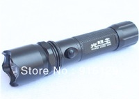 Wholesale Manufacturers supply CREE Q5 M303-5 LED Bright flashlight/Aluminium alloy LED flashlight (10pcs/lot Free shipping)