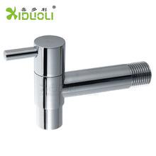 Chrome Brass Wall Mounted Washing Machine Taps Water Faucet Basin Mixer Angle Valve Hot Sale XDL-8014 (China (Mainland))
