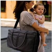 2013  Nappy bag multifunctional mother bag oversized cross-body mummy  infanticipate bag