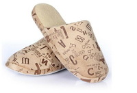Free Shipping male/Letters printed/soft/short fabric/Household slippers/Slip bottom/Autumn and winter/ cotton slippers
