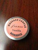 4 in 1 Massage Candle Massage oil - ( B010 - Vanilla )