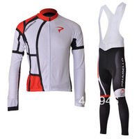 New!2012 PINARELLO Team White/Black Cycling Jersey/Cycling Wear/Cycling Clothing+Long Bib Pants-D006 Free Shipping!