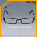 Free shipping 2013 new style 5035 square black man's metal RX frames optical glasses