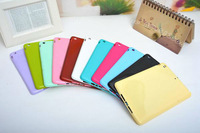 200pc/Lot for iPad Mini, Fashion Design Jelly Candy Colors Back Cover Case, DHL Free Shipping