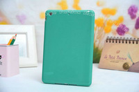 100pc/Lot For iPad Mini New Arrival Jelly Candy Colors Back TPU Cover Case Feels Well Fashion Design DHL Free shipping