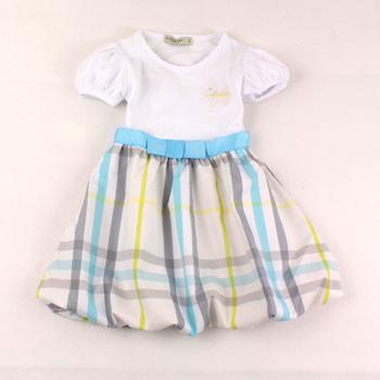 baby girls tutu dresses,girls Lattice bowknot dresses,girls bud dress wholesale,5pcs/lot mix full size,free shipping