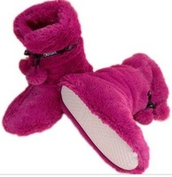 Free shipping winter plush indoor floor household boots home warm shoes