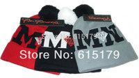 DIAMOND MN DD Beanies Hats Wen's Women's Autumn Winter knit Cotton wool Hip-Hop Hats Snapback caps 1pcs/lot