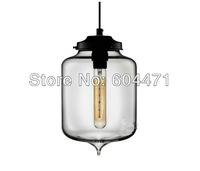 "Hot selling Niche Modern glass pendant lamp  ,Turret Modern Pendant Light(7""dia x 11.5""H"")"