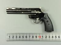 free shipping Revolver 357 metal artificial gun alloy child gift toy gun model pistol