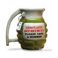 FREE shipping Food SAFE Novelty American MK2 Grenade shape coffee mug Ceramic Water Tea Cup  In stock