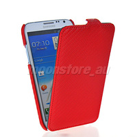 New Carbon Fibre flip hard back case cover For Samsung Galaxy Note 2 II ,N7100 Case Cover With Retail Package Free Shipping
