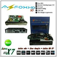 Ifast Free shipping! AZFOX HD X7(for South America) nternet sharing decoder nagra 3 free IKS azfox hd x7 for South America