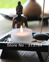 Free Shipping/ Buddha candlestick/home furnishing articles/ incense seat