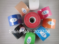 Water proof Kinesio tape kinesiology  5CM*5M Sports tape Therapy tape muscle tape 20rolls/lot!