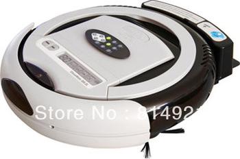 Robotic vacuum cleaner QQ2L-B(For Ukraine  buyer)-time control,auto-charege cleaner,origina design,good quality,good price