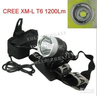 SSC- 1200 Lumens 1200L LED Bicycle HeadLight Bike HeadLamp + 8.4v 6400mAh Battery Pack+Charger 1pc