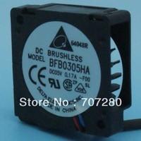 3cm bfb0305ha 3010 5v 0.17a  tachometer signal drum wind machine dual ball bearing cooling fan