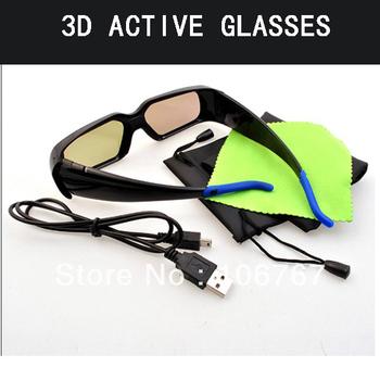 Freeshipping 3d active shutter glasses for all infrared philips 3d tv 46PFL5507 5537T/60 46PFL7007T