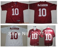 Alabama Crimson Tide AJ McCarron #10 Crimson College Football Jersey -Free Shipping