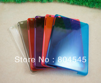 10pcs New solid candy color clear Hard Back Case Cover for Apple iPad mini  PT60