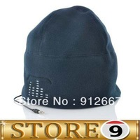 Beanie Hat with Built-in Headphones (Blue/black/White/Pink)