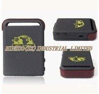 TK102 GPS Tracker 4 band Memory slot shock sensor full accessories! Retail box! PC&web Portuguese GPS tracking system