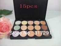 free shipping NEW makeup 15 color CONCEALER palette ( 24 pcs/lots)