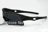 2011 Black frame black tablet sun glasses Juliet sports type sunglasses