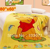 Soft Cartoon Baby Kid Toddler Coral Fleece Mink Blanket Throw Quilt Bed Sheet Comforter Bedspread Bedding Set