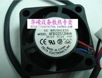 2.5CM AFB02512HHA 2510 12V 0.12A Cooling fan