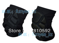 Classic skiing flanchard skiing knee pad thickening soft knee pad good quality 1pair/lot Free shipping