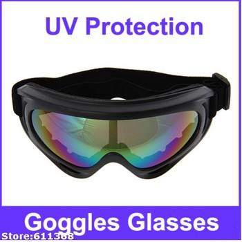 UV Protection Super Sports Ski Snowboard Skate Goggles Glasses(Colorful Lens)