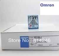 Free shipping,10pcs  Omron relay MY4NJ MY4NJ relay 220V AC