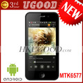 5G 4inch Hero H2000+&#39;s Upgrade Edition A5000 MTK6577 Dual core 1.0GHz Android 4.0 Wifi GPS 3G Smart Phone freeshipping #2