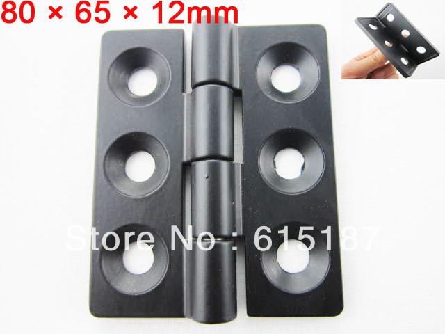 "Black 0.28"" Screw Cabinet Window Door Butt Hinge Replacement(China (Mainland))"