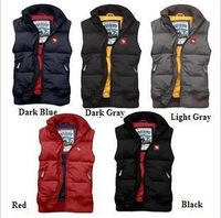 Free Shipping Women Man Down Vest  Lover Down Vest Coat Multi-color Sleeveless Waistcoat Jacket 90% White Duck Down VT-032