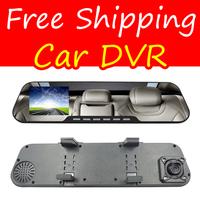Free Shipping 1080P Rearview Mirror Car DVR Full HD Camera Recorder FHD