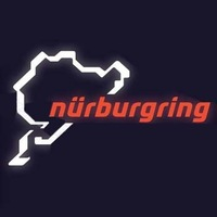 Free shipping  Reflective car stickers     nurburgring  racing track