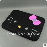 new lovely cute Hello kitty notebook soft latop  Neoprene Skin Computer Case Bag Notebook Cover Pouch