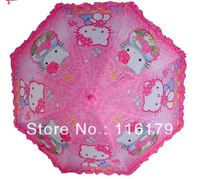UMBRELLA HELLO KITTY kids umbrella CLEAR automatic PINK free shipping
