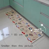 Kitchen floor mats slip-resistant pad slip-resistant mats carpet door mats