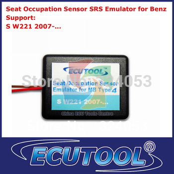 Wholesale Seat Occupancy Occupation Sensor SRS Emulator for Mercedes Benz W221 Airbag Sensor Repair Tool Type 4-free shipping